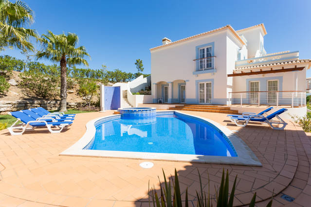 Algarve Tennis Properties Salema Golf Course Villa